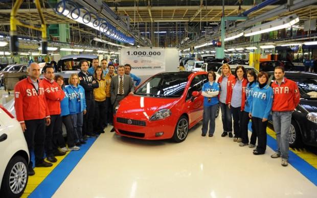 Fiat feiert den einemillionsten Grande Punto : Unter GM Regie konstruiert