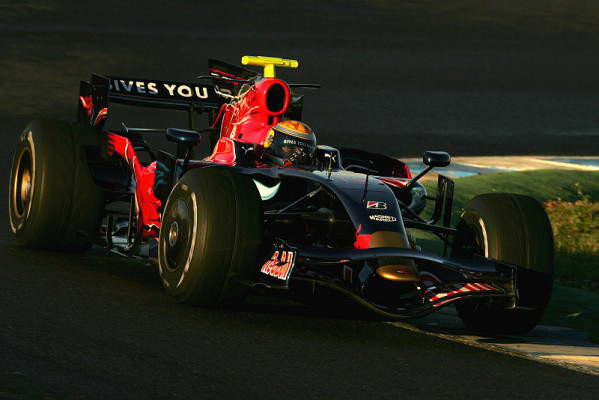 Jerez, Tag 2: Drei Toro Rosso vorne