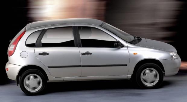 Lada Kalina mit neuem Motor und ABS