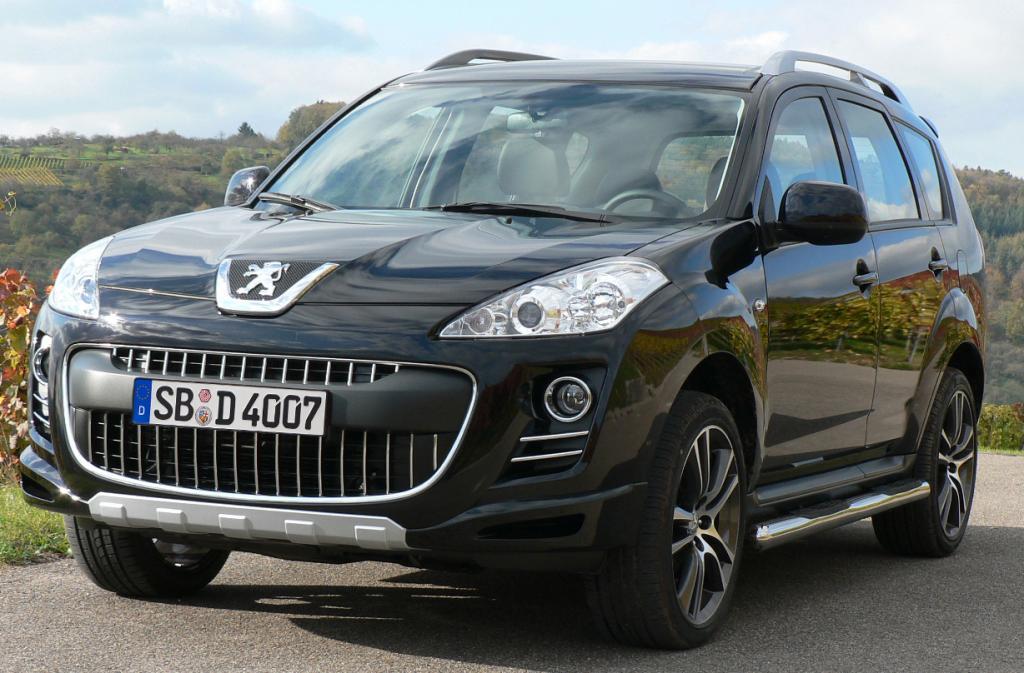 "Peugeot präsentiert ""Sport Edition"" des 4007"
