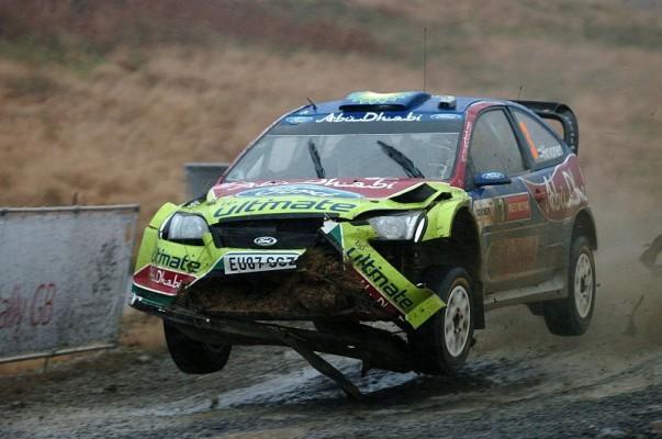 Rallye Wales: 2. Tag: Das Duell spitzt sich zu