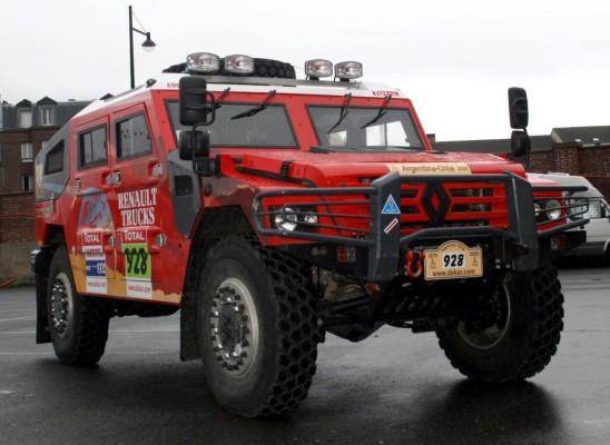 Renault Sherpa begleitet die Dakar 2009