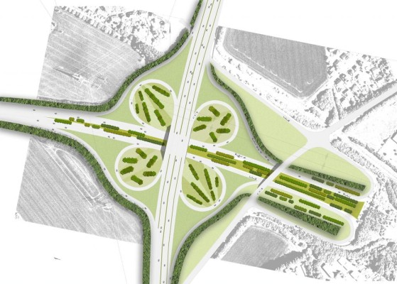 Ruhrgebiet-Autobahn wird zum Park