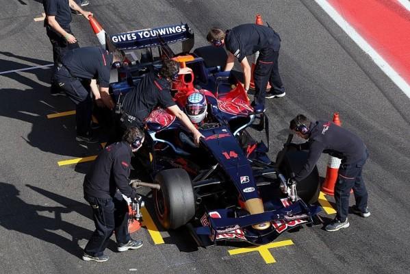 Sato testet wieder für Toro Rosso: Aller guten Dinge sind drei