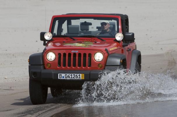 Sondermodell Jeep Wrangler Golden Eagle mit 2600 Euro Preisvorteil