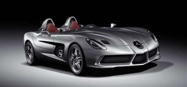 Stürmischer Bolide: Mercedes-Supersportler ohne Dach