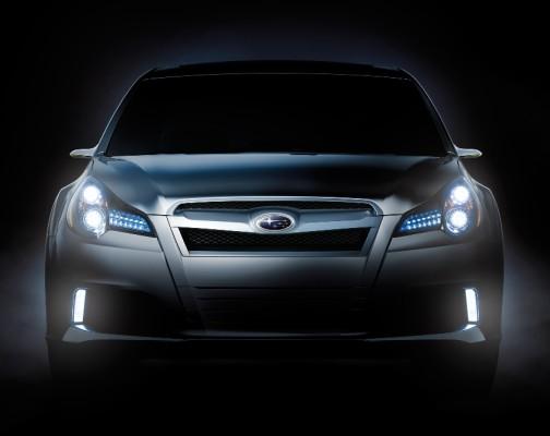 Subaru zeigt Legacy Concept in Detroit