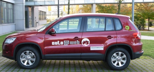 Volkswagen vernetzt Forschungs-Tiguan mit
