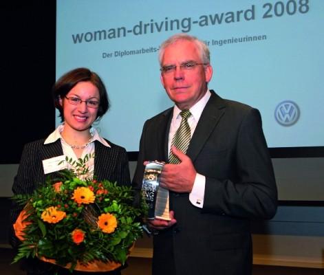 Volkswagen zeichnet Ingenieurinnen aus