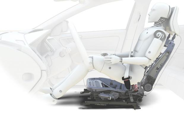 Volvo feiert zehn Jahre effektiven Schleudertrauma-Schutz