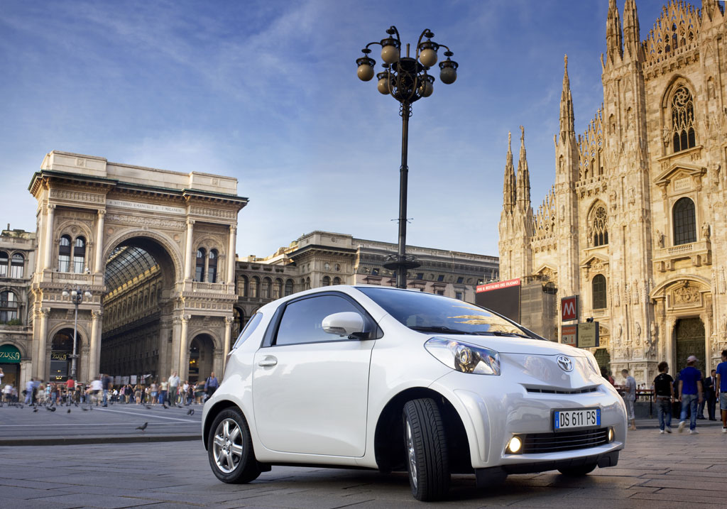 Vorstellung Toyota iQ: Klein, kompakt und wendig durch die Stadt