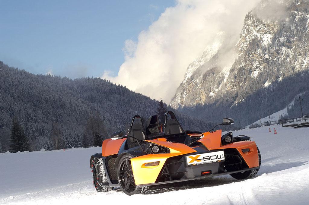 Winterpaket für KTM X-Bow