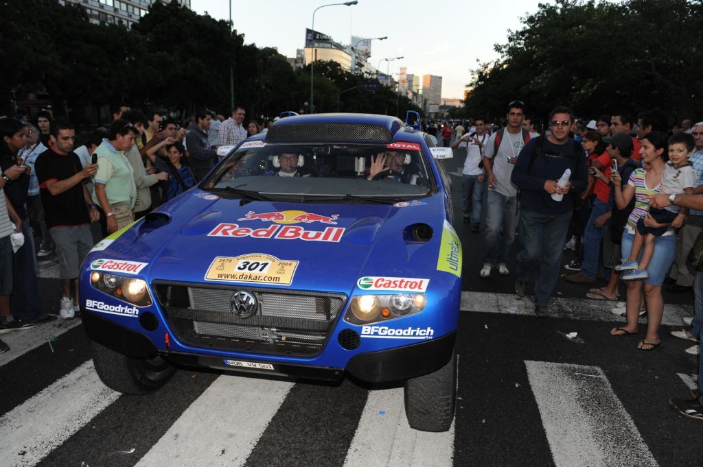 500 000 erlebten den Show-Start der Rallye Dakar