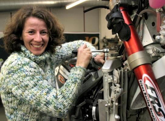 Dakar 2: Christina Meier startet als einzige deutsche Motorradfahrerin