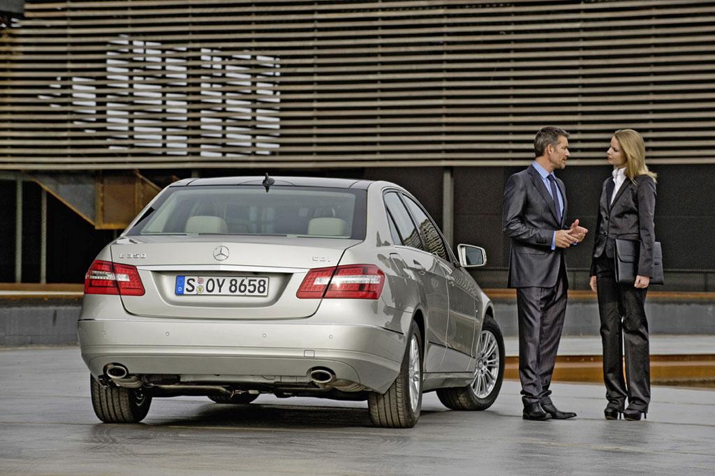 Der Kern vom Stern: Sparmotoren und Sicherheits-High-Tech in der Mercedes E-Klasse