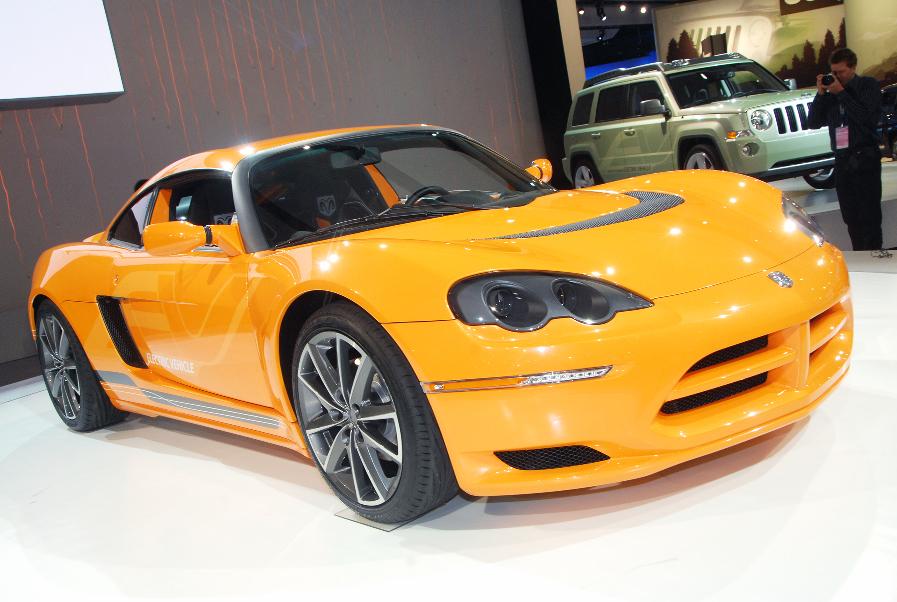 Detroit 2009: Chrysler setzt auf Elektroantrieb