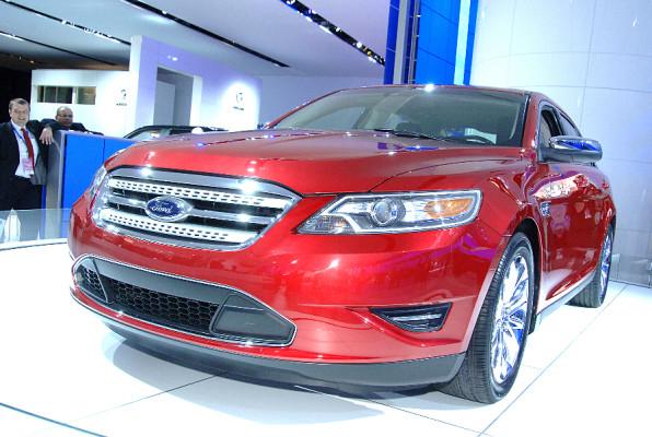 Detroit 2009: Ford Taurus mit fünfstelligem Zugangscode