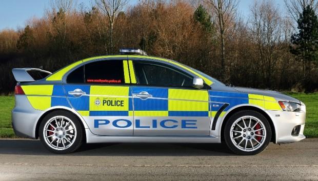 Englische Polizei setzt Mitsubishi Lancer Evolution ein