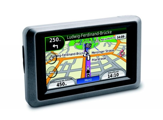 Neues Navigationsgerät für Motorradfahrer