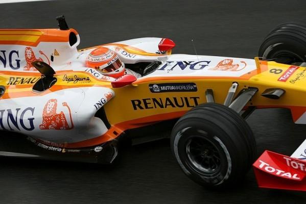 Piquet Jr. absolvierte erste Dienstfahrt : Ohne Probleme