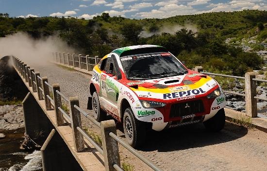 Rallye Dakar: Erster Etappensieg für Mitsubishi