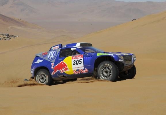 Rallye Dakar: Giniel de Villiers führt im Volkswagen