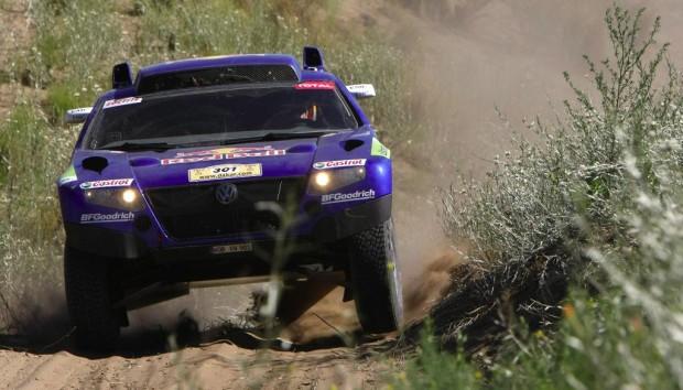 Rallye Dakar: Zwei Race Touareg liegen vorn