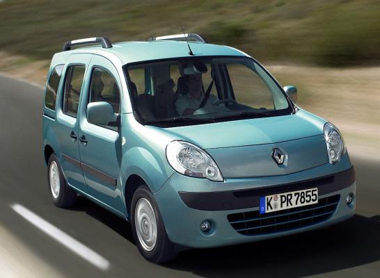 Renault präsentiert Kangoo-Sondermodell ''Happy Family''
