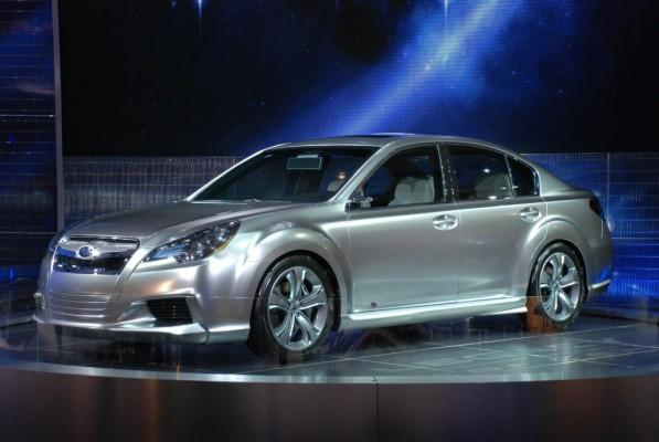 Subaru gibt Ausblick auf neuen Legacy