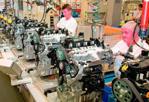 Volkswagen legte Zusatzschichten in der Motorenfertigung ein