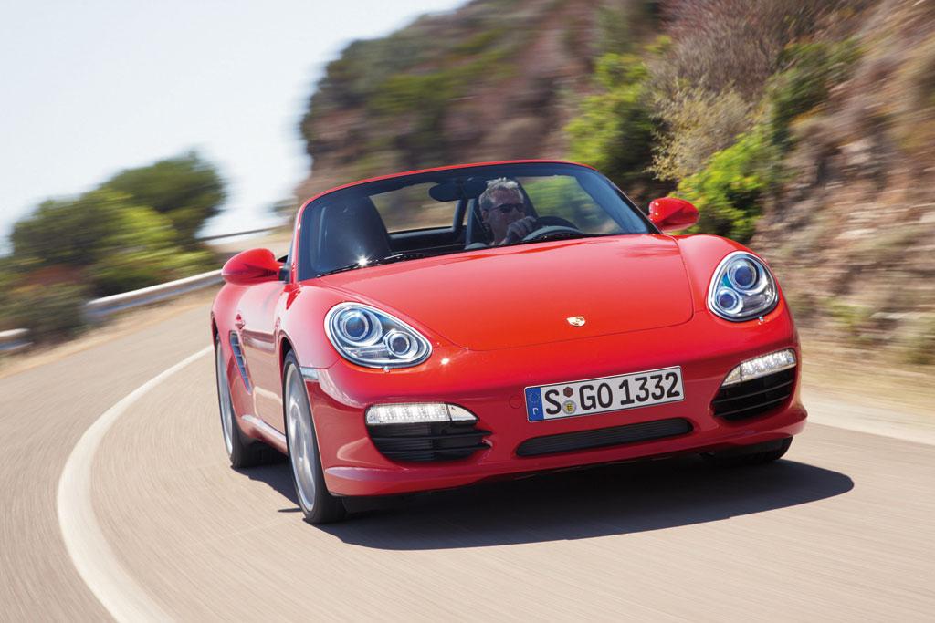 Vorstellung Porsche Boxster: PS statt Blumen