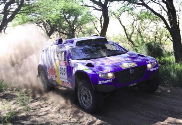 Zweiter Tagessieg für Volkswagen bei der ''Dakar''