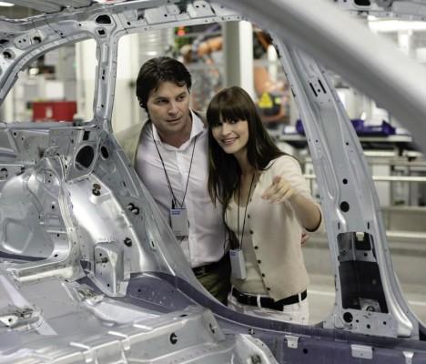 Audi gibt Einblick in die Produktion