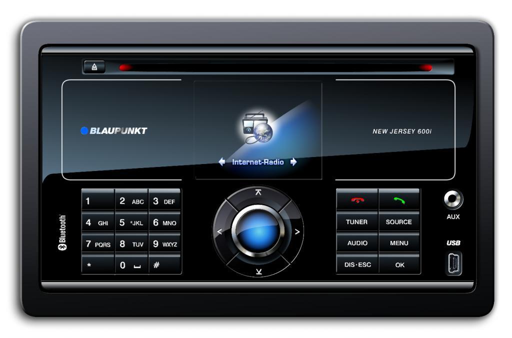 Blaupunkt bringt Internet-Autoradios auf den Markt