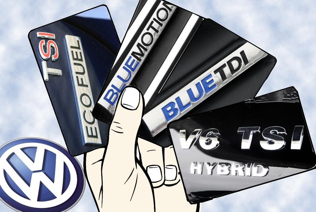 Blue Motion Technologies bei VW:  Alles unter einer Dachmarke
