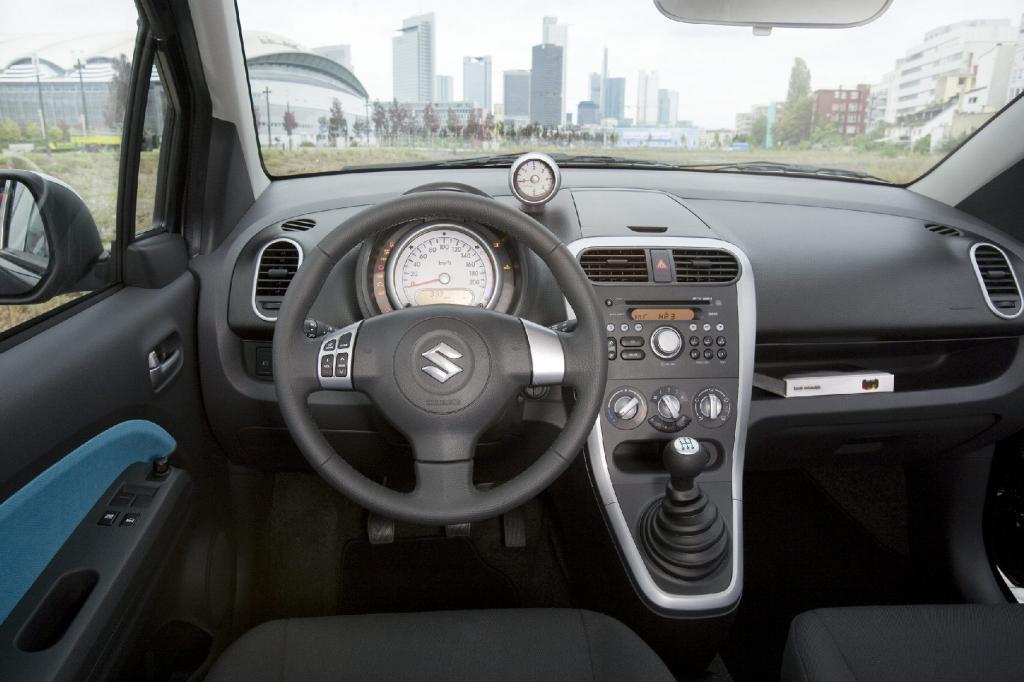 Fahrbericht Suzuki Splash: Einparkkünstler mit viel Raum