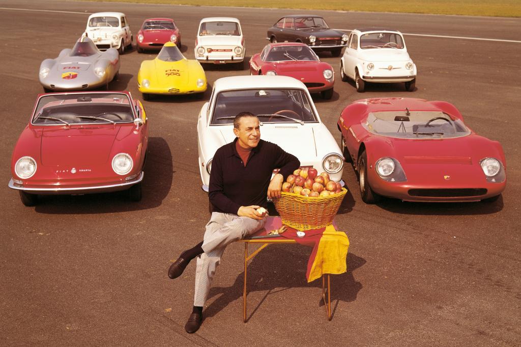 """Fiat feiert auf der Retro Classic """"100 Jahre Abarth"""""""