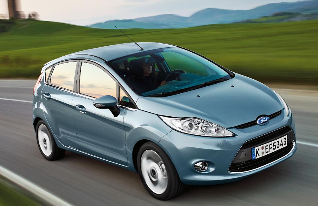 Ford Fiesta mit ''Allergie getestetem Innenraum''