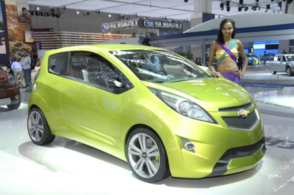 Genf 2009: Chevrolet Spark ersetzt den Matiz