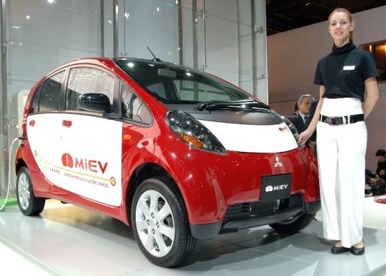 Genf 2009: Mitsubishi zeigt mögliche Europaversion des i MiEV