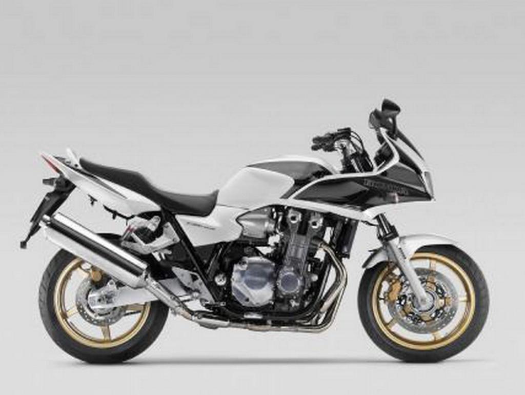 Honda CB 1300 S jetzt auch in Weiß-Schwarz