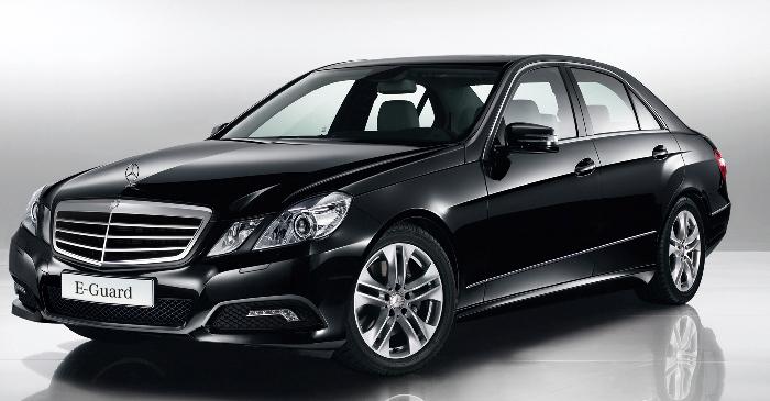 Mercedes-Benz E-Klasse auch als E-Guard
