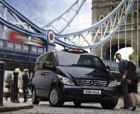 Mercedes-Benz Vito macht Londoner Taxis Konkurrenz