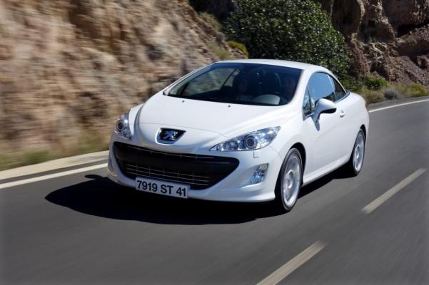 Peugeot 308 CC: Heiße Luft bei jedem Wetter