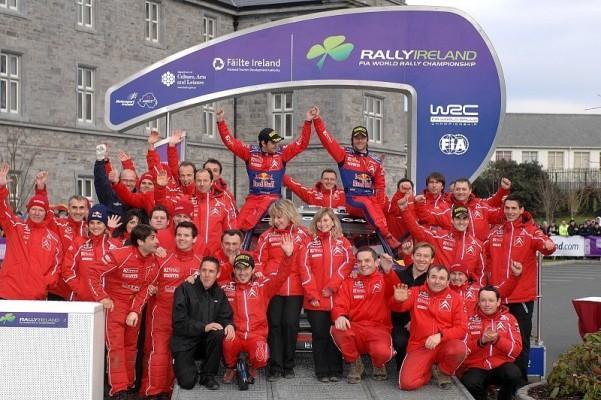 Rallye Irland, 3. Tag: Citroen beginnt Saison mit Doppelsieg