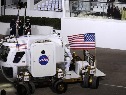 Reifen für Mondauto entwickelt