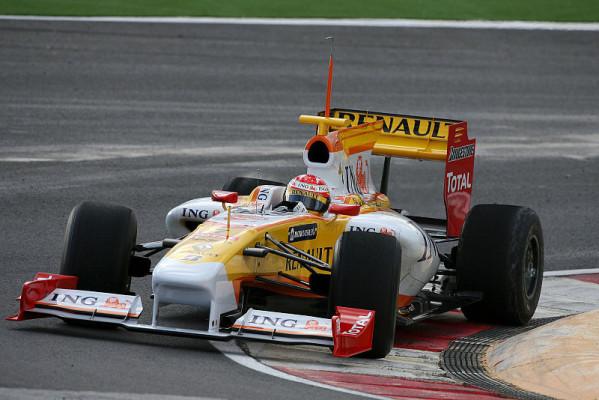 Renaultet mit Aero-Tests: Zu langsam?
