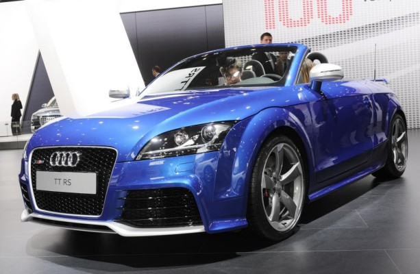 AMI 2009: Audi stellt erstmals den TT RS Roadster vor