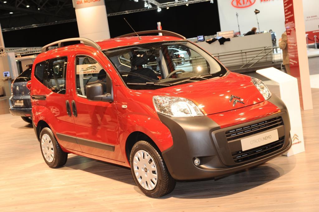 AMI 2009: Citroën präsentiert den Nemo Kombi