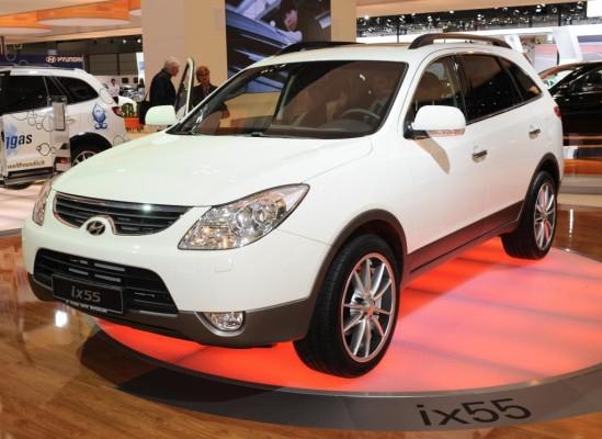 AMI 2009: Hyundai zeigt ix55 und Oberklasselimousine Genesis